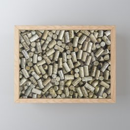 Wine Corks Framed Mini Art Print