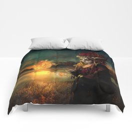 Setting the world on fire Comforters