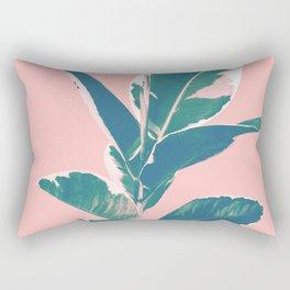 Ficus Elastica Finesse #3 #tropical #foliage #decor #art #society6 Rectangular Pillow