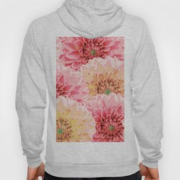 Big pastel flowers Hoody