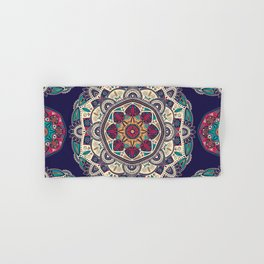 Colorful Mandala Pattern 007 Hand & Bath Towel