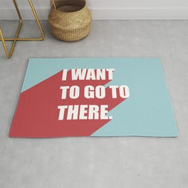I want to go to there Rug