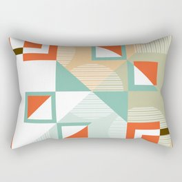 Vintage Retro 08 Rectangular Pillow