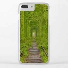 Inside The Tunnel Of Love Clear iPhone Case
