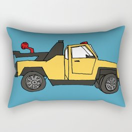 Tow Truck Rectangular Pillow