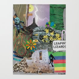Leapin' Lizards! Poster