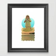 Crabby Boy Framed Art Print