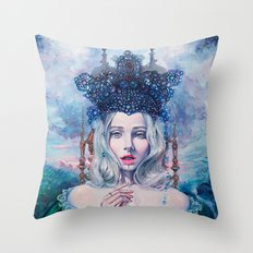 Self-Crowned Throw Pillow