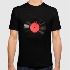 The vinyl of my life Black LARGE Mens Fitted Tee