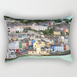 Colorful Cobh Ireland Rectangular Pillow
