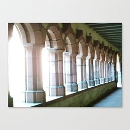 Worms abbey. Canvas Print