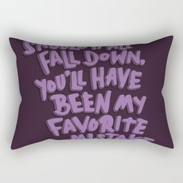 Favorite Mistake Rectangular Pillow