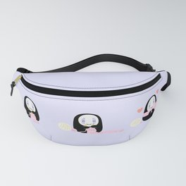 kawaii no face Fanny Pack