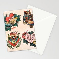 Tattoos of Love Stationery Cards