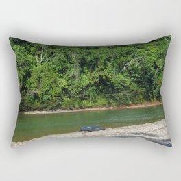 En el medio de nada Rectangular Pillow