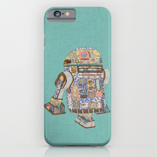 R2D2 Crashed Into A Flower Shop iPhone & iPod Case