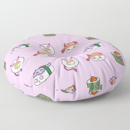 SUSHI PATTERN Floor Pillow