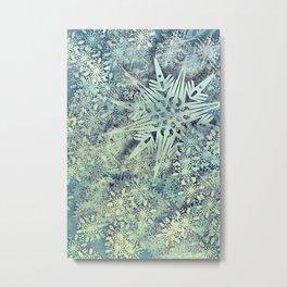 sea of flakes Metal Print