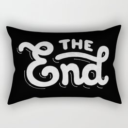 The end #2 Rectangular Pillow