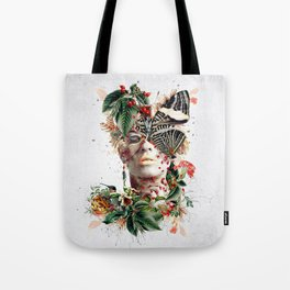 Inside Butterfly Tote Bag