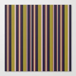 Purple Stripes Canvas Print