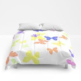 Summer Butterflies Comforters
