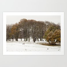 This beautiful winter Art Print