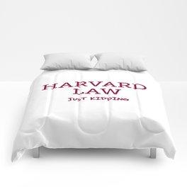 Harvard Law Comforters