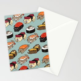 Sushi Otter Stationery Cards