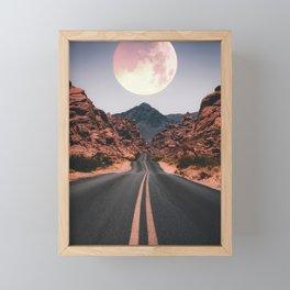 Mooned Framed Mini Art Print