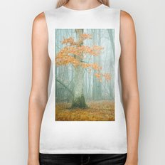 Autumn Woods Biker Tank