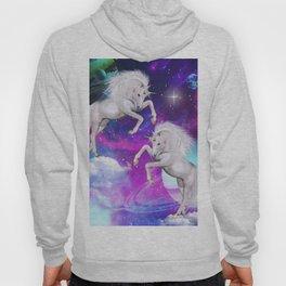 space unicorns v Hoody