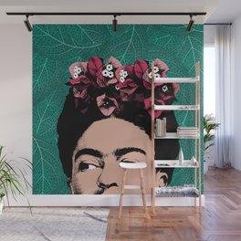 Floral Frida Wall Mural