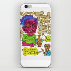 Bern Out iPhone & iPod Skin