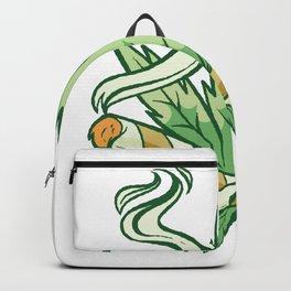 Marijuana mit Hanfzeichen Backpack