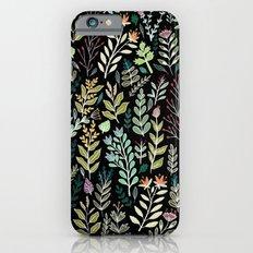 Dark Botanic Slim Case iPhone 6