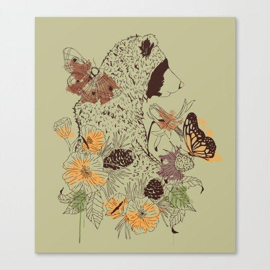 Northern Bear Canvas Print