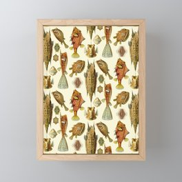 Ernst Haeckel - Ostraciontes Framed Mini Art Print