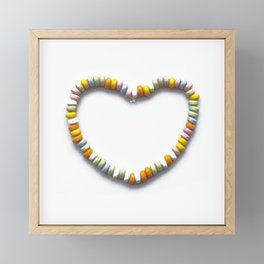 sweet heart Framed Mini Art Print