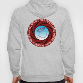 The Prisoner: I will not be pushed, filed, stamped... Hoody