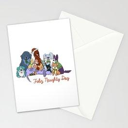 Feliz Naughty Dog Stationery Cards
