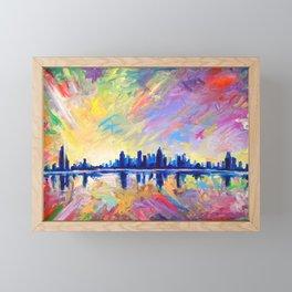 Brilliant Dawn Framed Mini Art Print