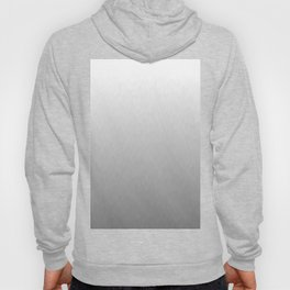 White to gray ombre flames Hoody