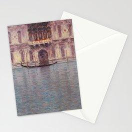 Claude Monet - Palazzo Contarini, Venice - Impressionism Stationery Cards