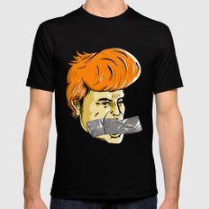 Donald Duct MEDIUM Black Mens Fitted Tee