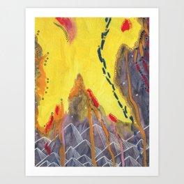 Hike Art Print
