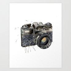 Take A Picture ! Art Print