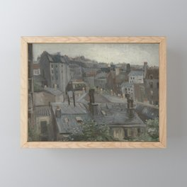 View from Vincent's Studio Framed Mini Art Print