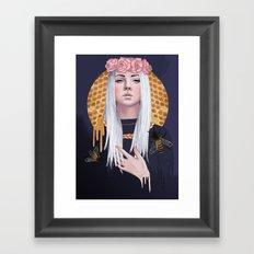 Oh, Honey Framed Art Print