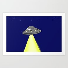 LIGHT-1 Art Print